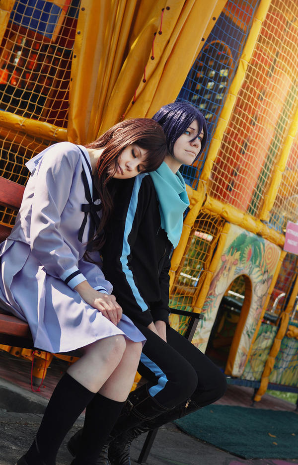 Noragami - Yato and Hiyori - 1 by Dokura-chan
