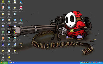 ShyGuy Desktop by GoneUnder