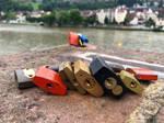 Locks of Heidelberg by cemito