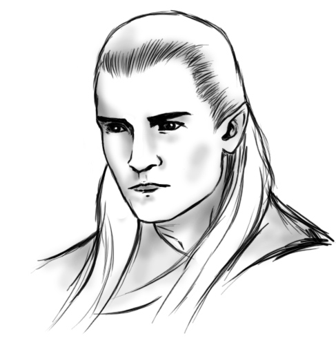 How To Draw Legolas