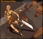 Siti: Lion Tribe NPC Character