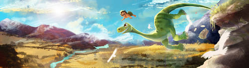 The Good Dinosaur: Leap of Faith by Ekatii