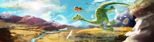 The Good Dinosaur: Leap of Faith