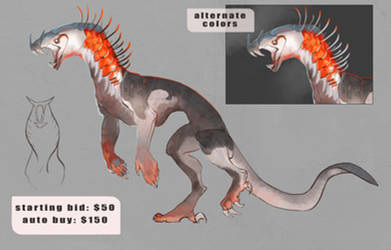 Creature Adopt: AUCTION! [CLOSED] by Ekatii
