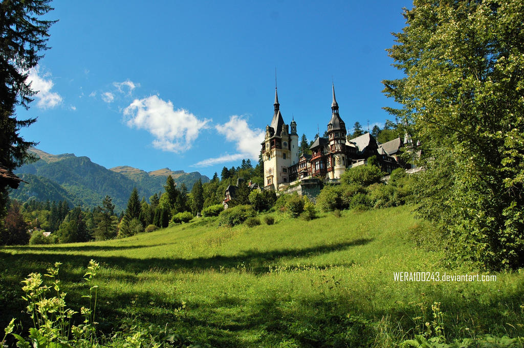 Dracula's Castle by wera100243