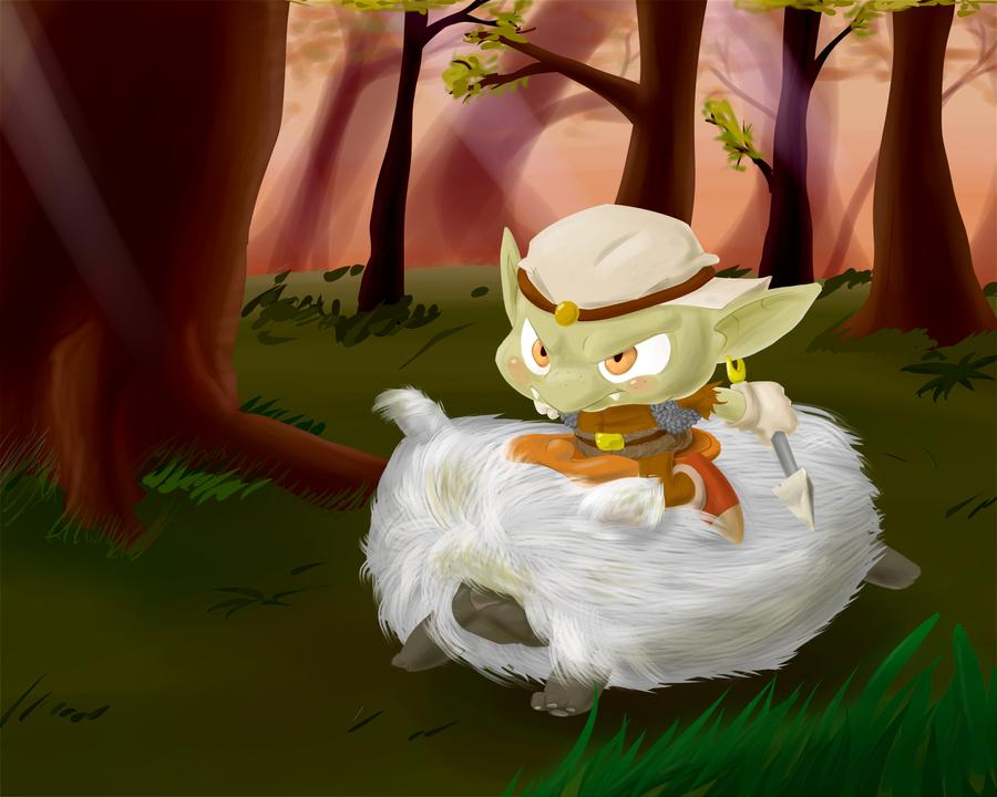 Liltle Goblin by TheBrokenMonkey