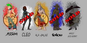 200 pts Adoptables (3/5 Sold)