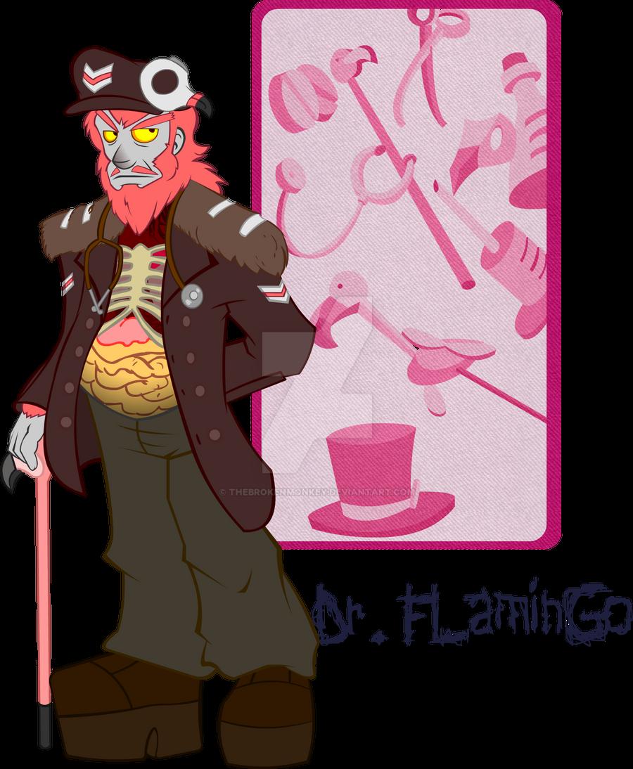 Retro Id: Dr Flamingo by TheBrokenMonkey