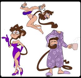 Sasa in purple