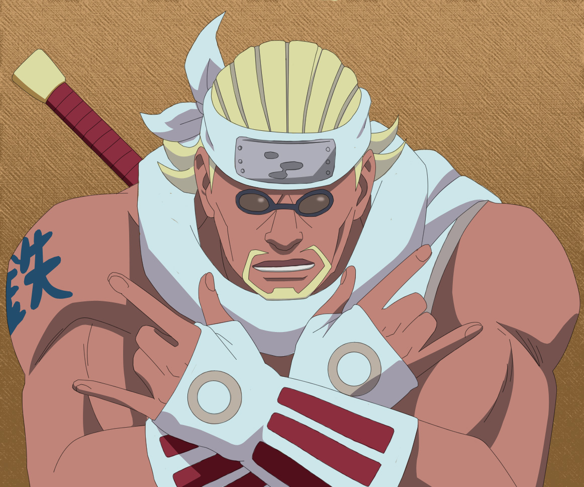 Killer bee vs naruto - photo#12