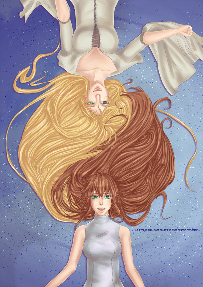 COMM - Eldaein and Mahel by littleWildviolet