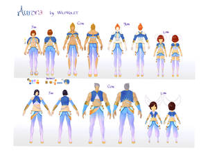 BnS costumes design 2016