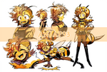 [CLOSED] Adopts - Funk Honeybee (insect #1)