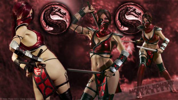 Nebulaluben as Skarlet (Mortal Kombat)