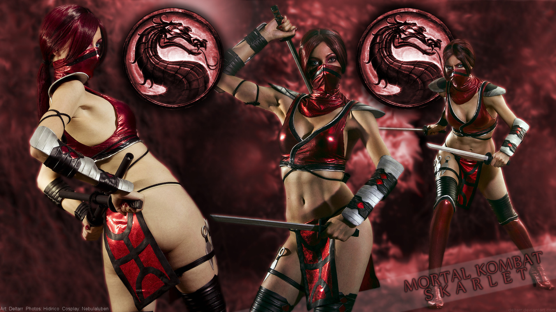 Nebulaluben as Skarlet (Mortal Kombat) by Deltarr