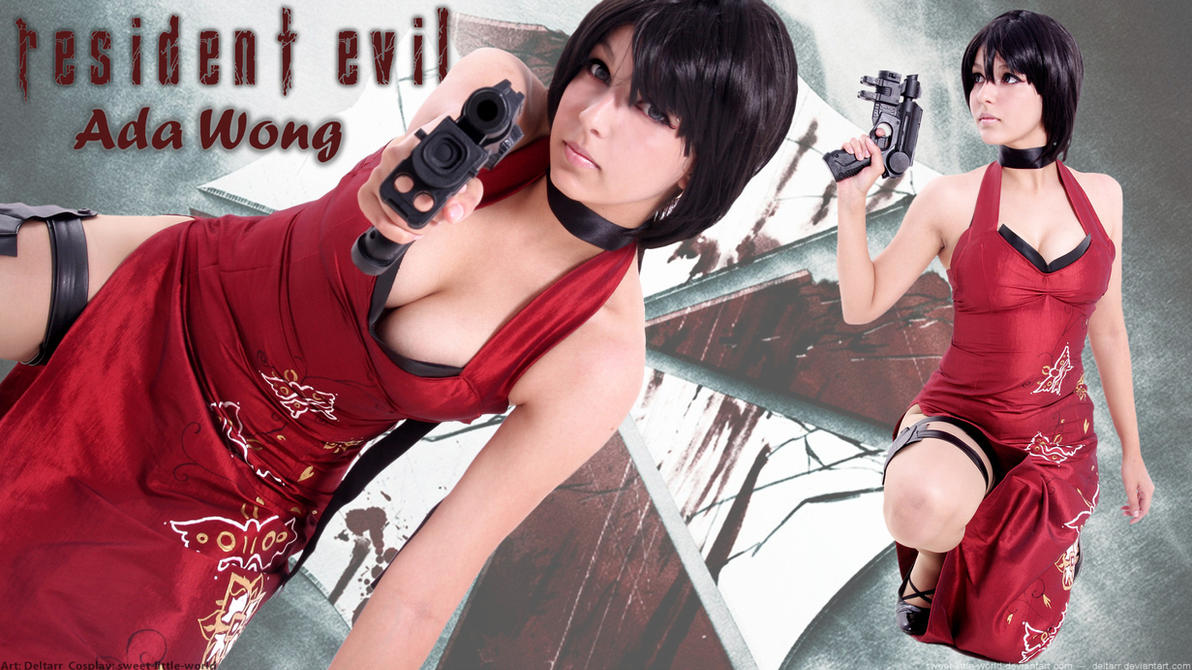 Sweet-Little-World as Ada Wong by Deltarr