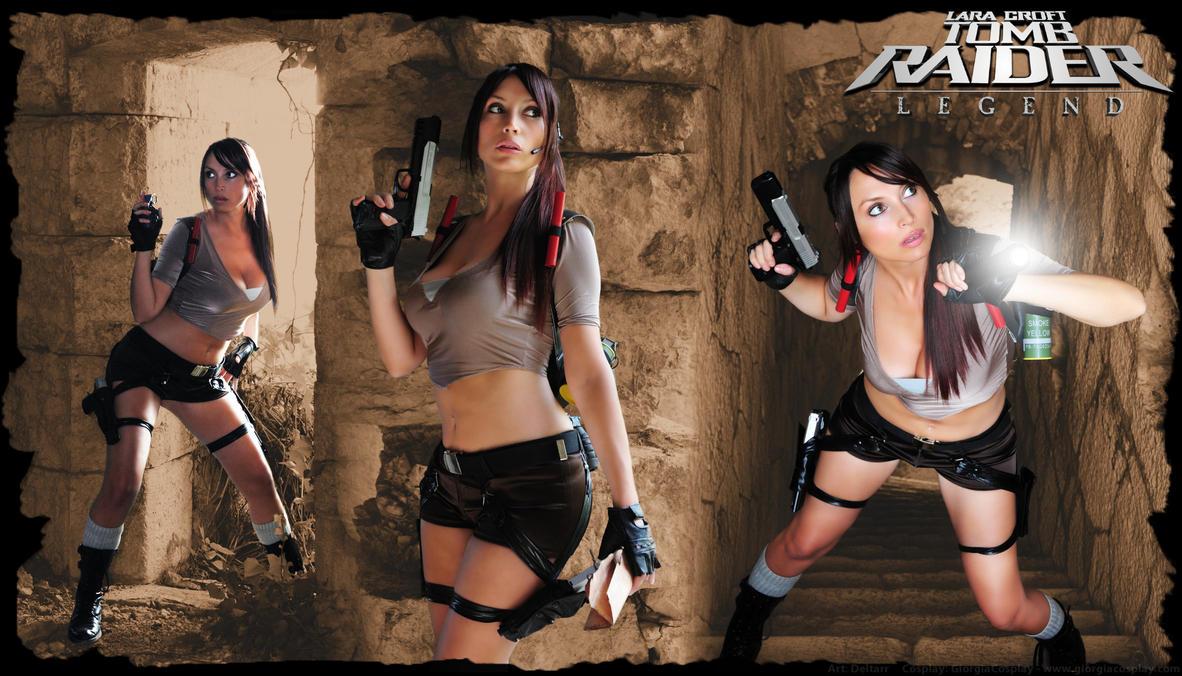 GiorgiaCosplay as Lara Croft by Deltarr