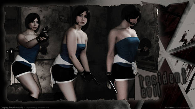 BlackPatchouly As Jill Valentine