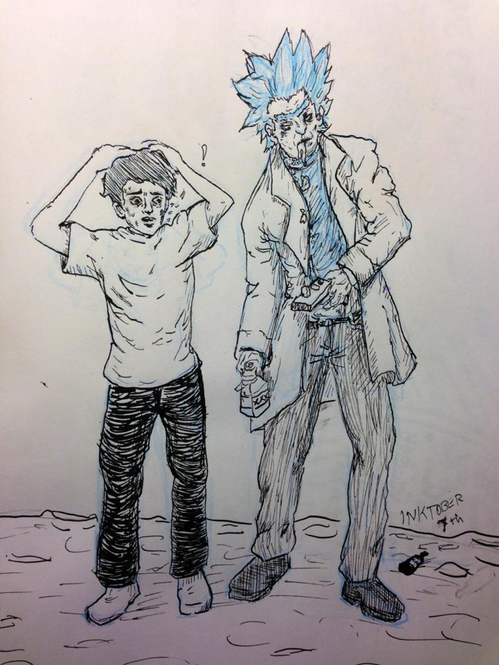 Rick and Morty by tsunadeboo22