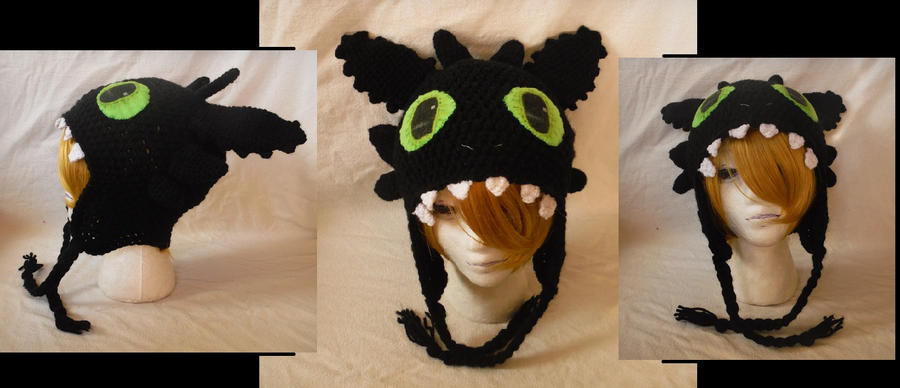 Toothless Hat by Cloud-Leporifelis on DeviantArt