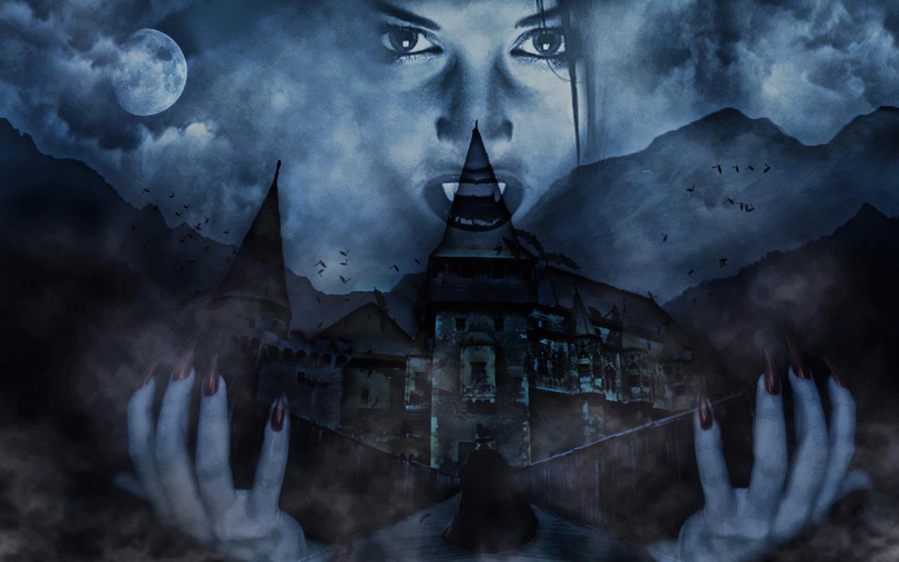 wallpaper vampires by spaceibiza1313 on deviantart