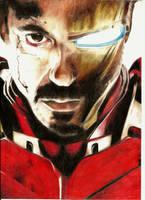 Iron Man by rockfrederick