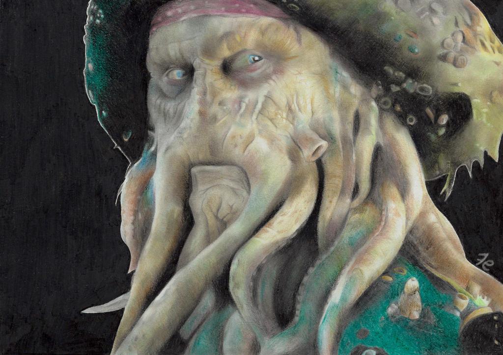 Davy Jones by rockfrederick