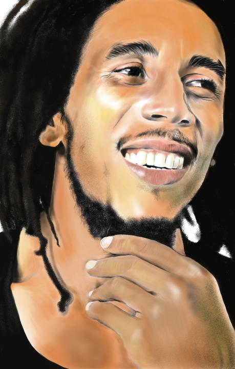 Bob Marley by rockfrederick
