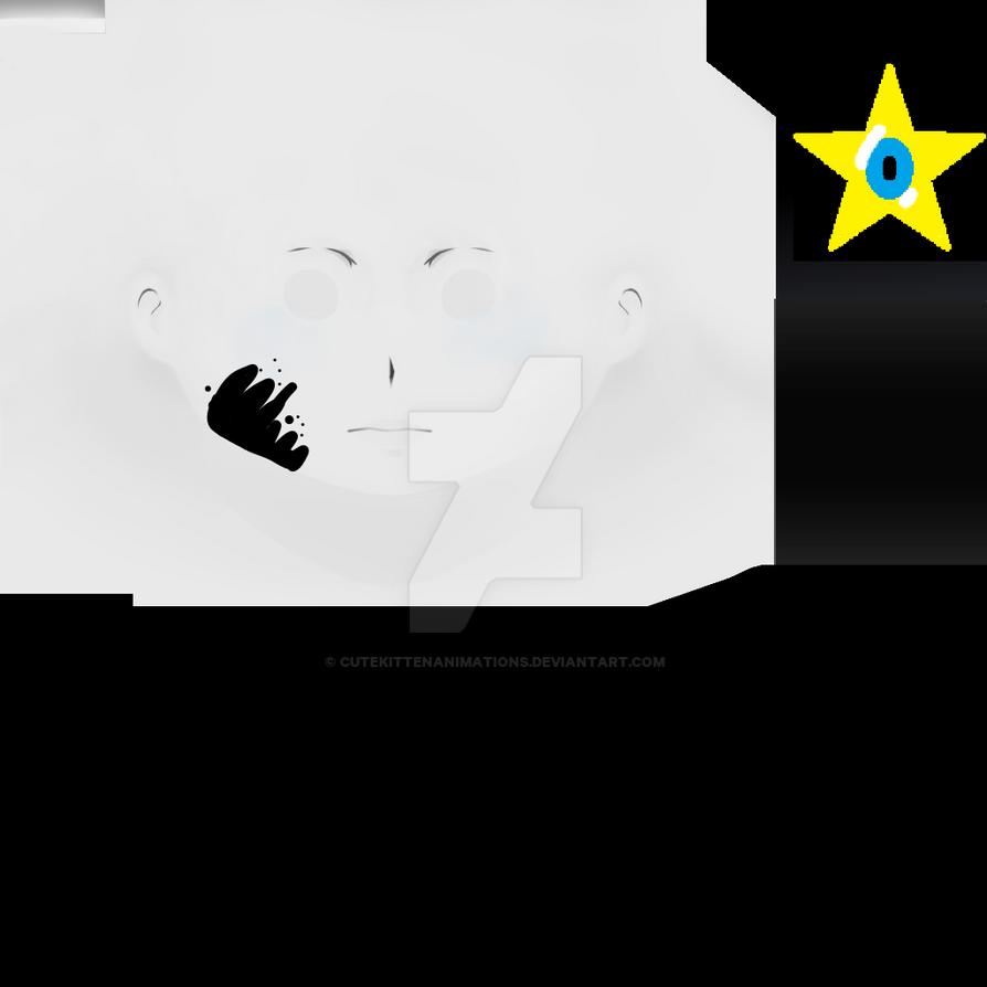 Yandere Simulator Ink Sans Face by CuteKittenAnimations on DeviantArt