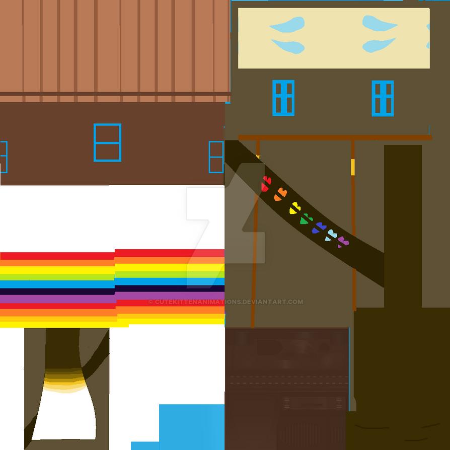 Yandere Simulator Ink Sans Long (Sweater) by CuteKittenAnimations on