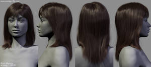 Body Study (Hair)