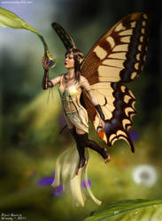 Thirsty Fairy by Woodys3d