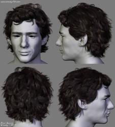 Ayrton Senna Hair