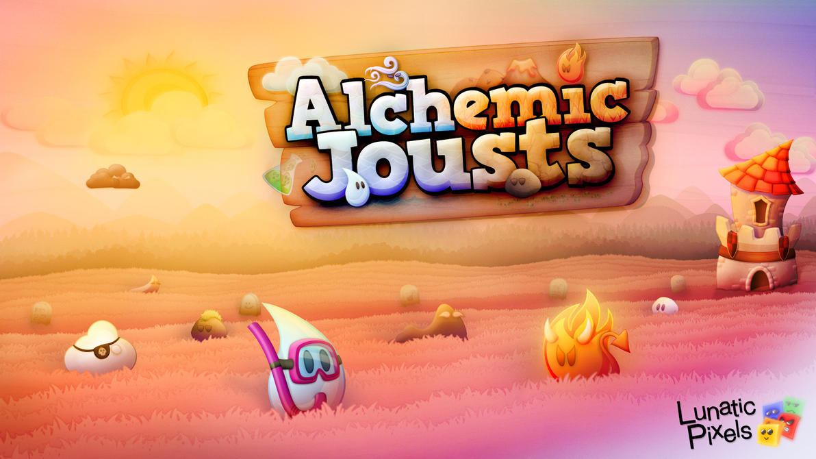 Alchemic Jousts artwork by Woodys3d
