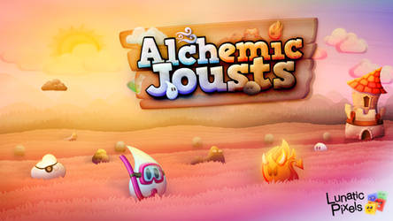 Alchemic Jousts artwork by Woodys3d