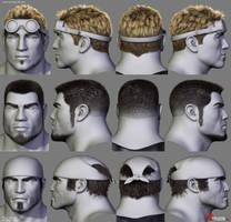 Gears of War Hairstyles 01