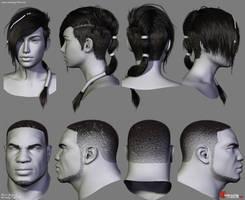 Gears of War Hairstyles 02