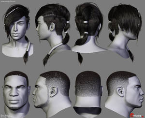 Gears of War Hairstyles 02