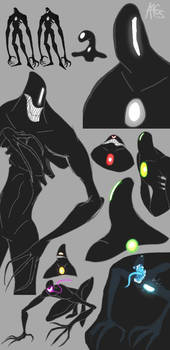 Cell Phone Drawing: Shadow Study