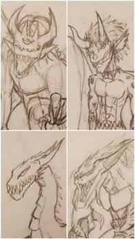 *Open* (3/4)-Sketchy Demon Adopts