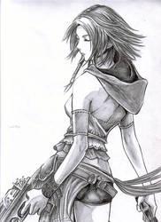 Yuna from FFX-2 by leiaskywalker83