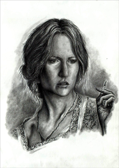 As Virginia Woolf by leiaskywalker83