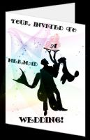 Mermaid Event Invitation by cookiebaby722