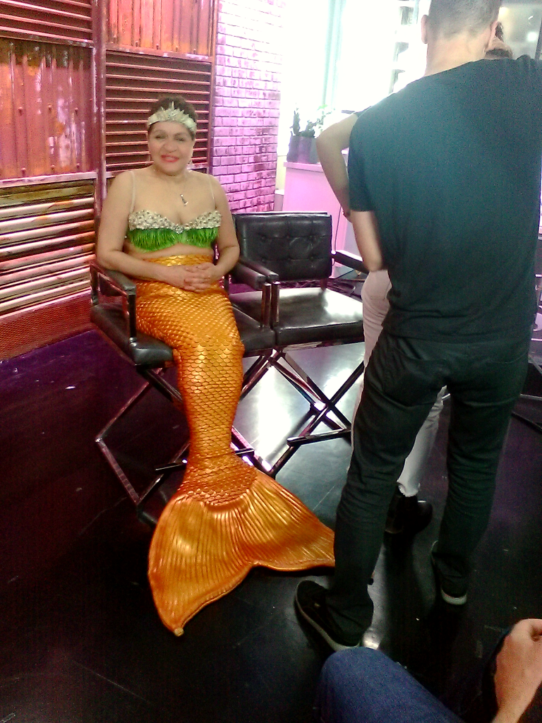Interview with the Harlem Mermaid by cookiebaby722