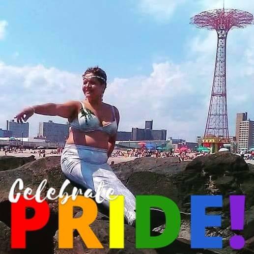 Harlem Mermaid Celebrates Pride Month by cookiebaby722