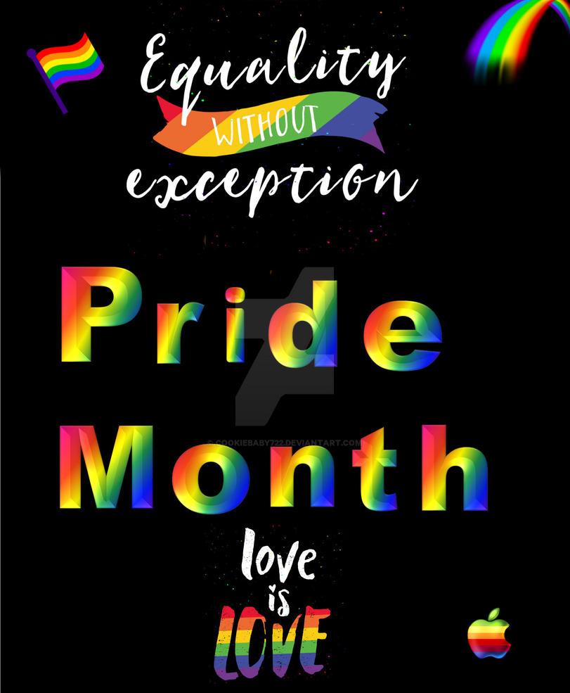 Pride Month by cookiebaby722