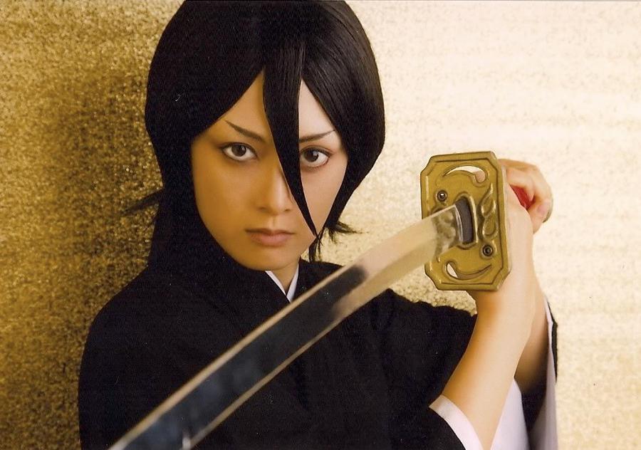 Bleach rock musical Rukia by wolf-speaker9
