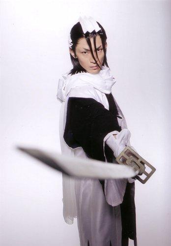 Bleach rock musical Byakuya Kuchiki by wolf-speaker9