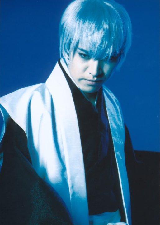 Gin Ichimaru bleach rock musical by wolf-speaker9
