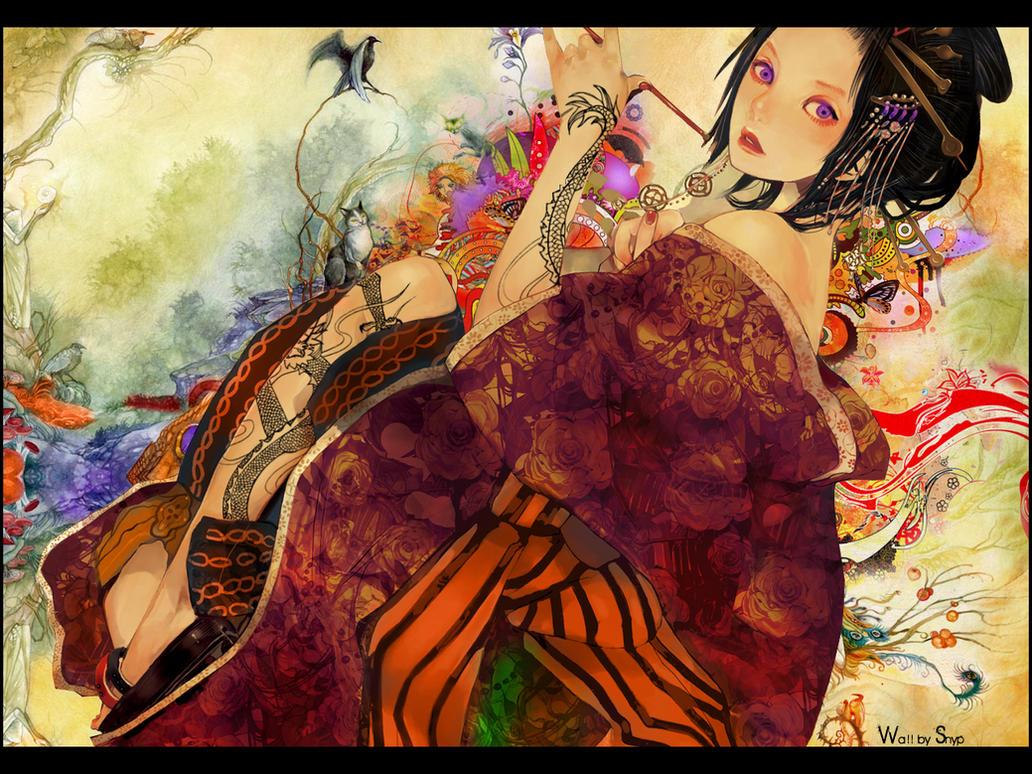 Geisha by r0pyns